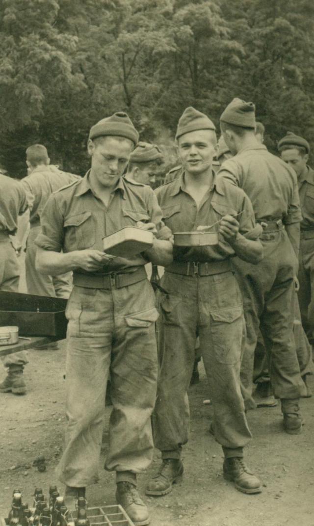 Marcheles-Dames en 1950, cantonnement. Albert023-1250357