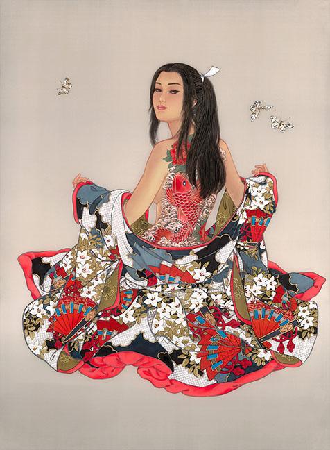 belle-geisha-robe-rouge-flora