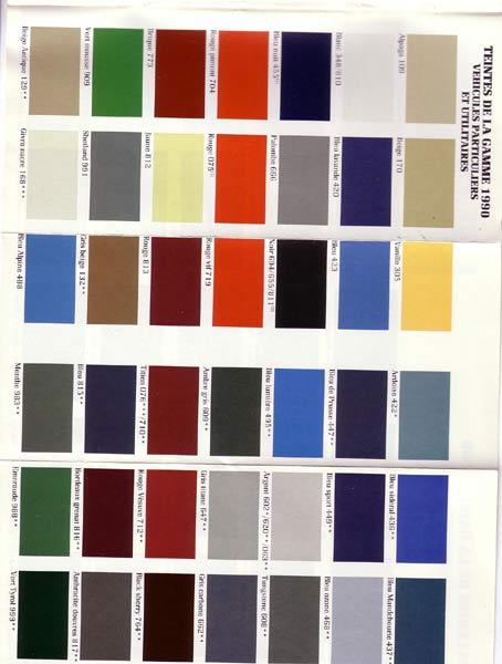 couleur peinture renault avec des id es int ressantes pour la conception de la. Black Bedroom Furniture Sets. Home Design Ideas